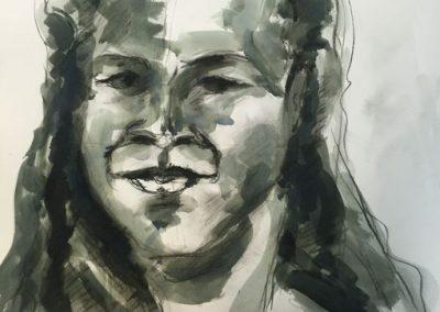 Intermediate portrait class